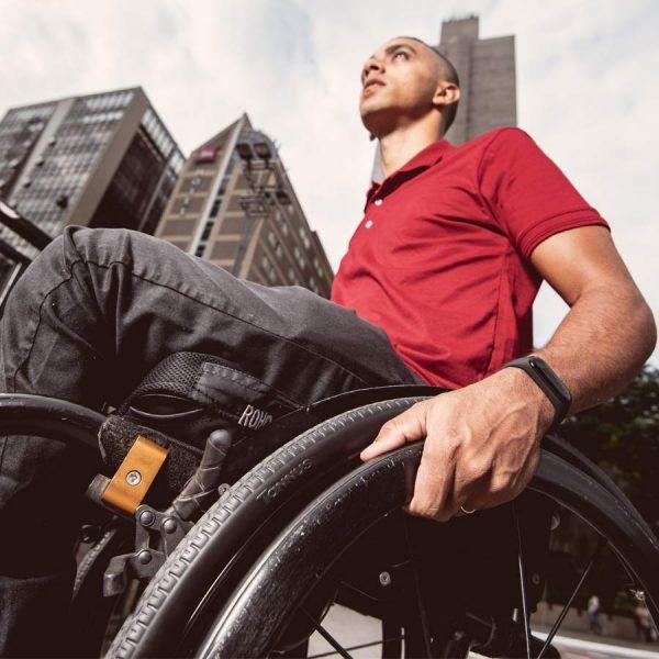 Tannus wheelchair tire